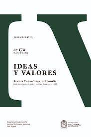 IDEAS Y VALORES N° 170 VOLUMEN LXVII