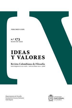 IDEAS Y VALORES N° 173 VOLUMEN LXIX