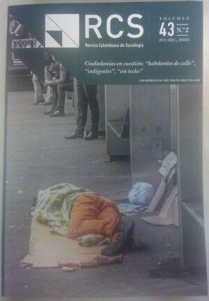 REVISTA COLOMBIANA DE SOCIOLOGIA VOLUMEN 43 N°1 ENE-JUN 2020