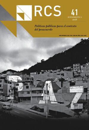REVISTA COLOMBIANA DE SOCIOLOGIA VOL. 41 NO. 1
