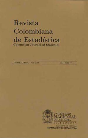 Revista Colombiana de Estadística Vol. 38 N. 1