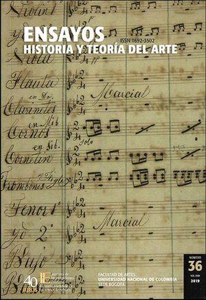 Revista ensayos historia y teoría del arte