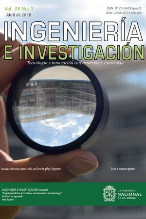REVISTA INGENIERIA E INVESTIGACION VO. 38 N° 2