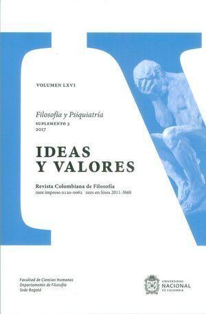 REVISTA IDEAS Y VALORES VOL. LXVI NO. 165