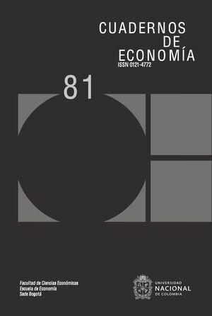 CUADERNOS DE ECONOMIA NO. 70