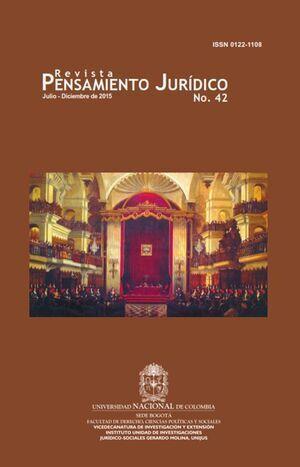 Revista Pensamiento Jurídico No. 42