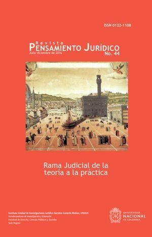 Revista Pensamiento Jurídico No 44 Julio - diciembre de 2016