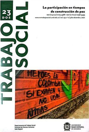 REVISTA DE TRABAJO SOCIAL NO. 16 (TRABAJO SOCIAL Y PROBLEMAS SOCIALES)