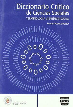 Diccionario critico de ciencias sociales. Terminología científico-social (tomo 4) (p-z)