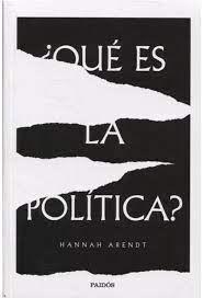 ¿QUÉ ES LA POLITICA?