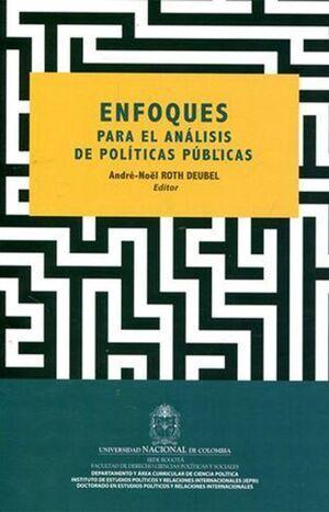 Enfoques para el análisis de políticas públicas (2da reimpresión)