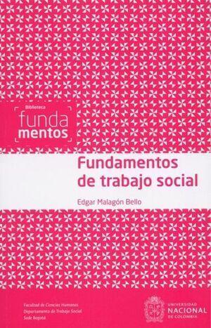 Fundamentos de trabajo social (Reimpresión)
