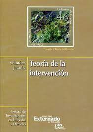 TEORIA DE LA INTERVENCION