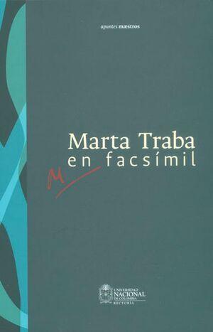 Marta Traba en facsímil (Reimpresión)
