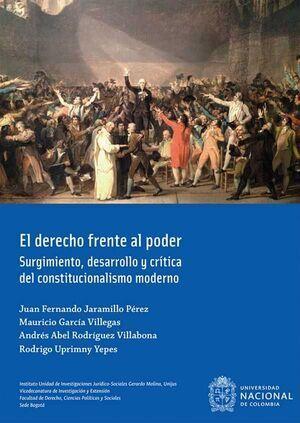 El derecho frente al poder (3ra Reimpresión)
