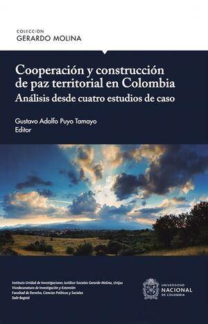 Cooperación y construcción de paz territorial en Colombia
