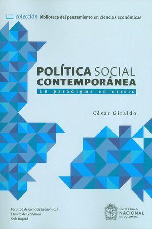 Política social contemporánea