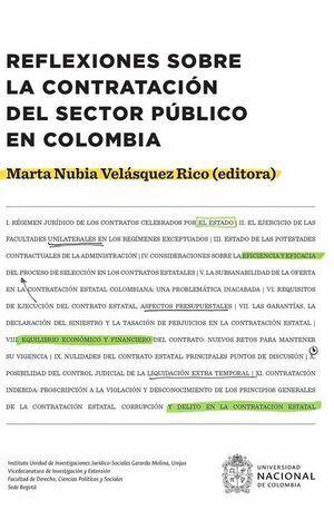 Reflexiones sobre la contratación del sector público en Colombia (reimpresión)