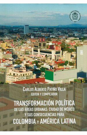 Transformación política de las áreas urbanas: