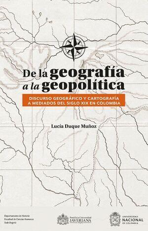 De la geografía a la geopolítica