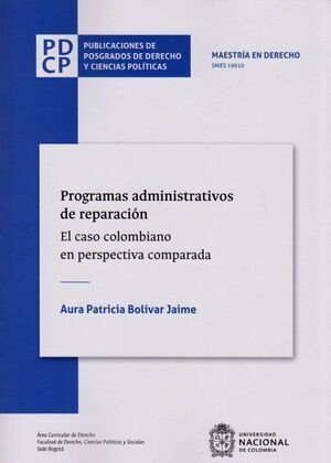 Programas administrativos de reparación