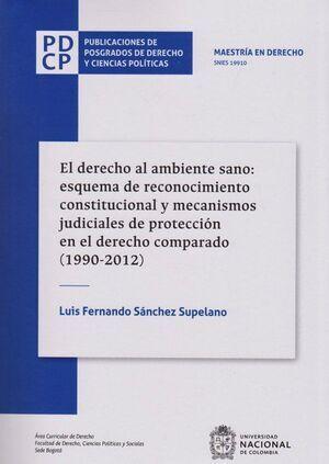 Derecho al ambiente sano: esquema de reconocimiento constitucional y mecanismos judiciales de protección en el derecho comparado (1990-2012)