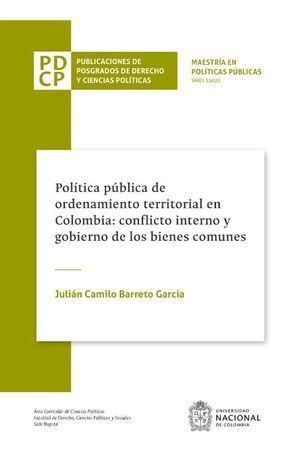 Política pública de ordenamiento territorial en Colombia