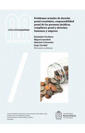 Problemas actuales de derecho penal económico responsabilidad penal de las personas jurídicas compliance penal y derechos humanos y empresa