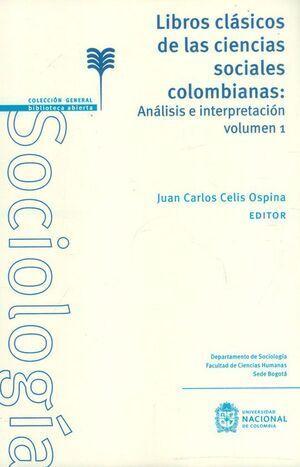 Libros clásicos de las ciencias sociales colombianas: