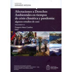 Afectaciones a derechos ambientales en tiempos de crisis climática y pandemia: algunos estudios de caso Volumen II